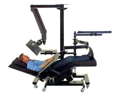 They Are Being Used When, For A Variety Of Reasons, A Person Needs To Work  Or Rest In A Zero Stress Position.